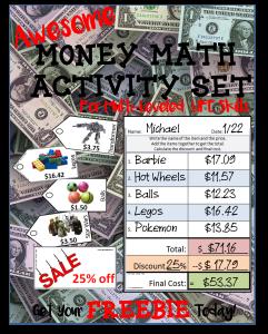 math worksheet : activites for life skills * noodlenook s tpt store : Life Skills Math Worksheets