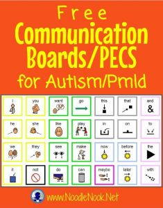 FREE Communication Boards/PECS for Autism and AAC