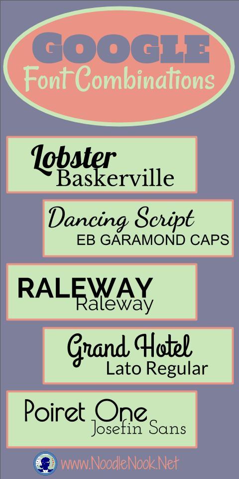 google-font-combinations