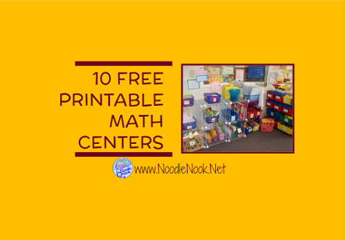Transformative image throughout printable math centers