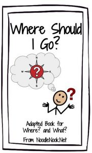 Where Should I Go? An Adapted Book for Inferential Comprehension