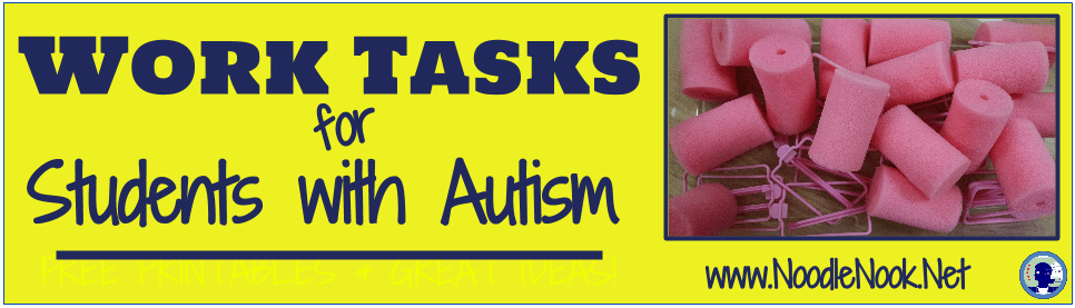 How to create independent work stations and tasks for students with Autism or Sped.