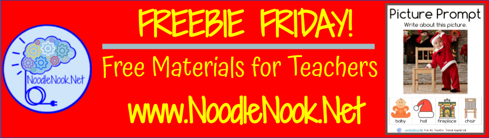 Freebie Friday for November for NoodleNook Readers! Thanks y'all!