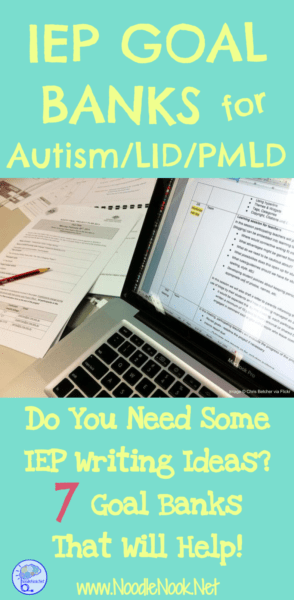 All your IEP meetings coming due at the same time? Not sure where to start or where to go? An IEP Goal Bank for Autism Units, LID and PMLD can help light the tunnel!