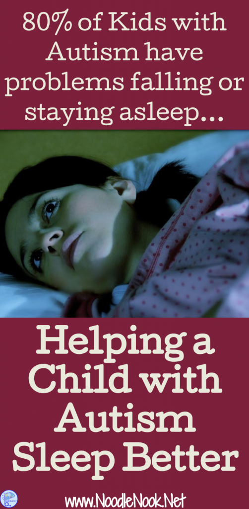 Sleep issues affect 80% of kids with Autism. How can you help? Be sure follow these 6 simple steps!