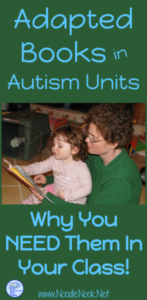 Using Adapted Books for Autism Units- PLUS FREE books!