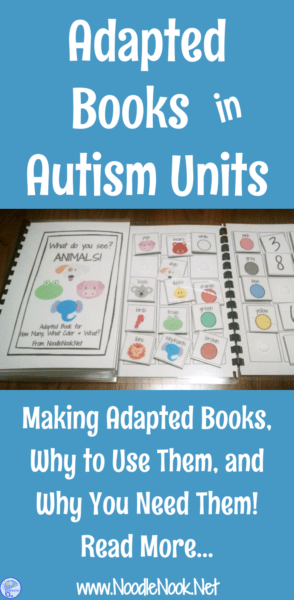 Using Adapted Books for Autism Units PLUS FREE books for you!