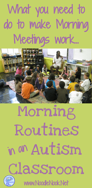 Need some tips to setting up your morning routine in Autism Classrooms or units? Here are the 5 things you need to make it work! Read on...