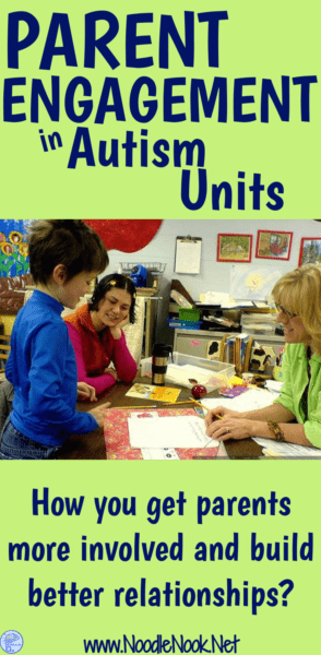 6 great tips on increasing parent engagement in your Autism Unit!