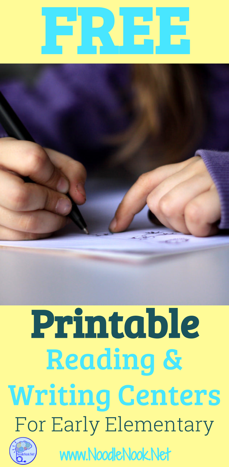 Looking to get started with Stations in your English classroom and need some ideas or simple printable and go activities? We got you with some free printable reading centers!