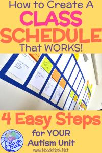 autism classroom schedule how to in 4 steps noodlenook net
