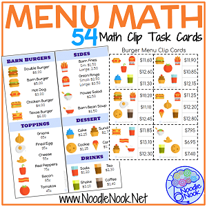 Delicate image throughout printable math centers